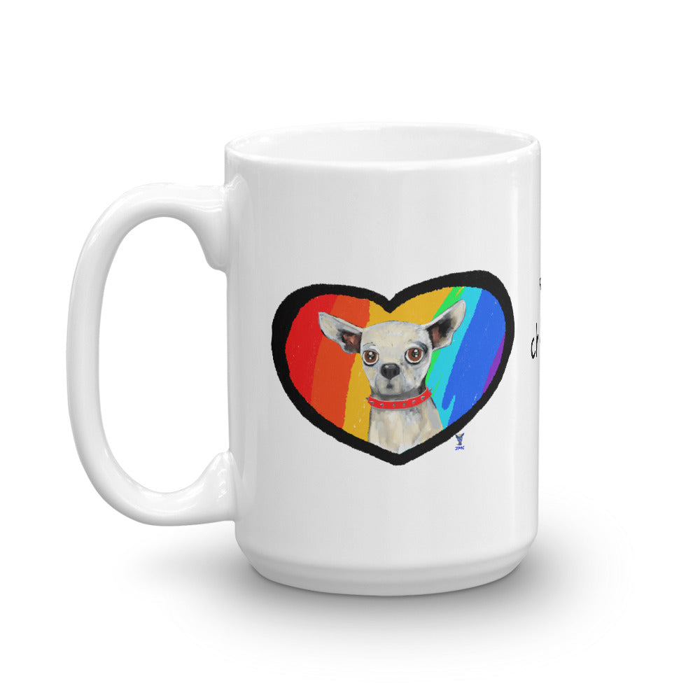 Chihuahua in the Heart Coffee Mug - pickie shop