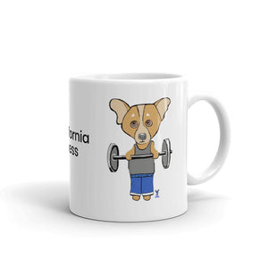 Corgi Body Builder Coffee Mug - pickie shop