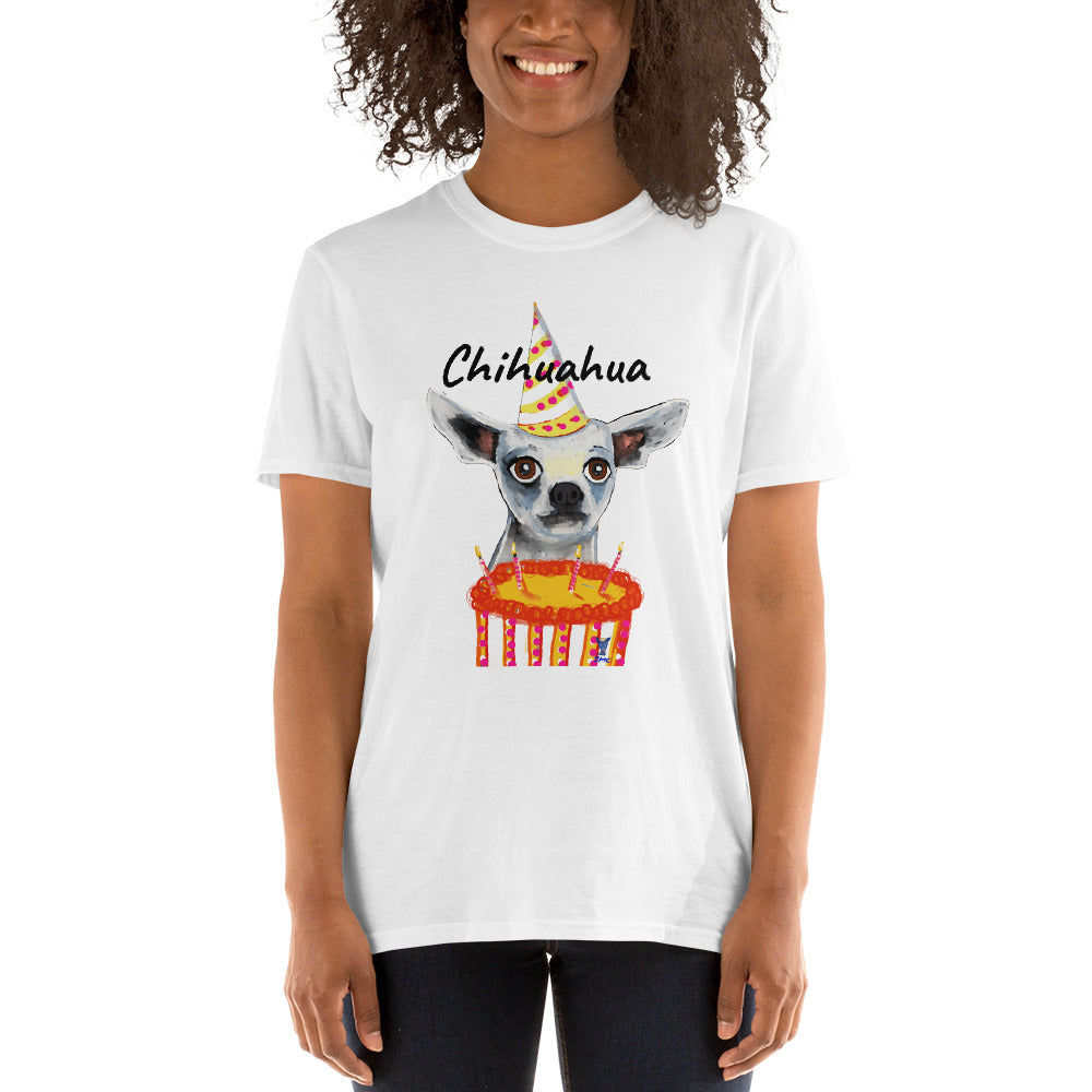 chihuahua gifts tshirt for women, unique birthday gifts for dog lovers