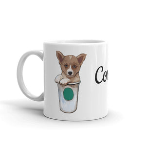 Corgi Dog loves Coffee Mug - pickie shop