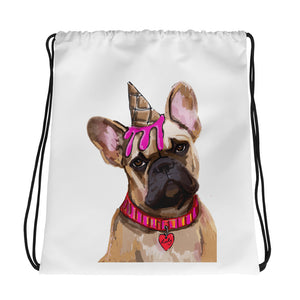 French Bulldog Drawstring bag - pickie shop