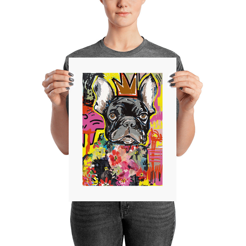 French Bulldog Poster - pickie shop