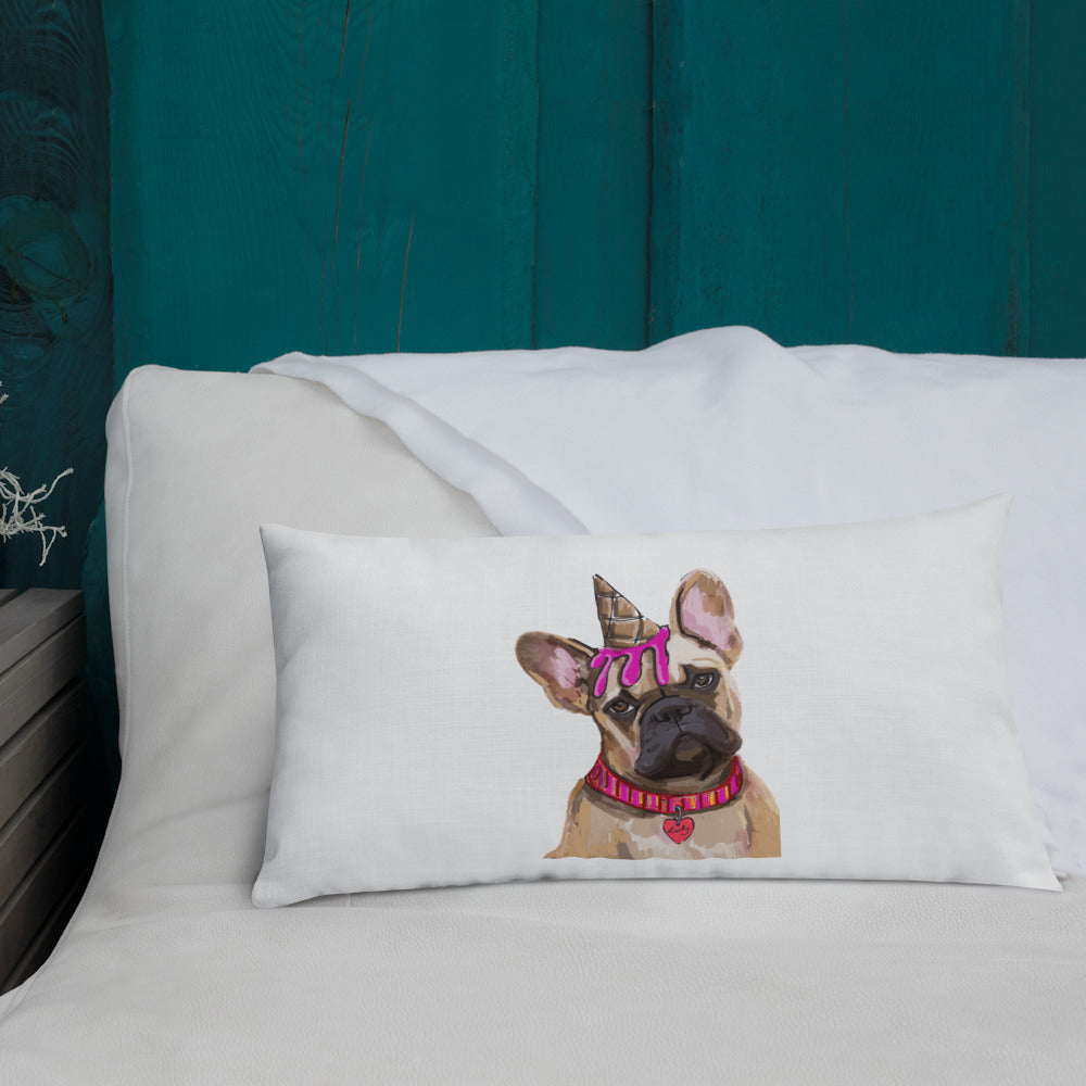 French Bulldog Premium Pillow with stuffing - pickie shop