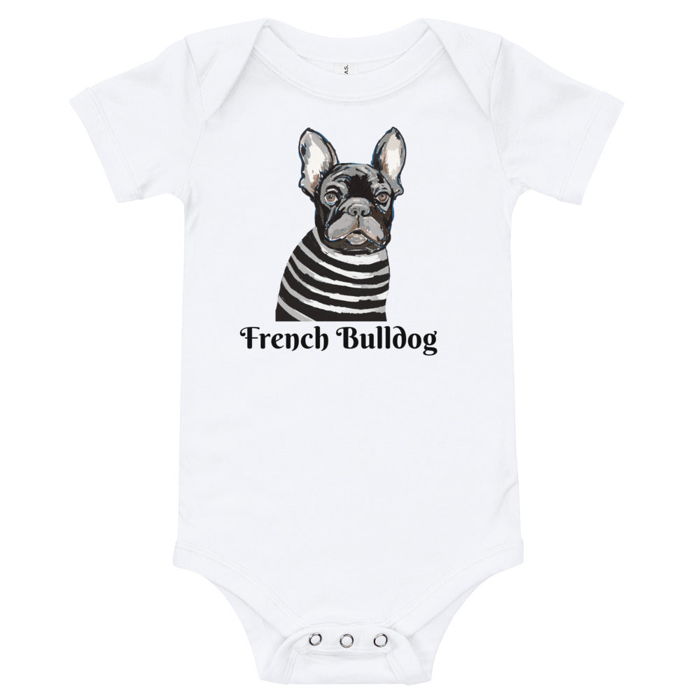French Bulldog Baby Onesies® - pickie shop