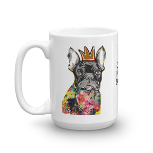 Queen French Bulldog Coffee Mug - pickie shop