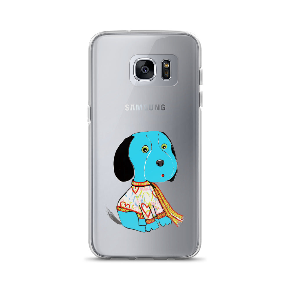 Blue Beagle Samsung Phone Case - pickie shop