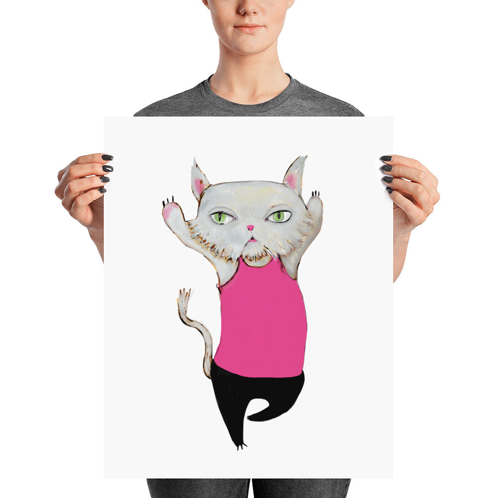 Cat Poster - pickie shop