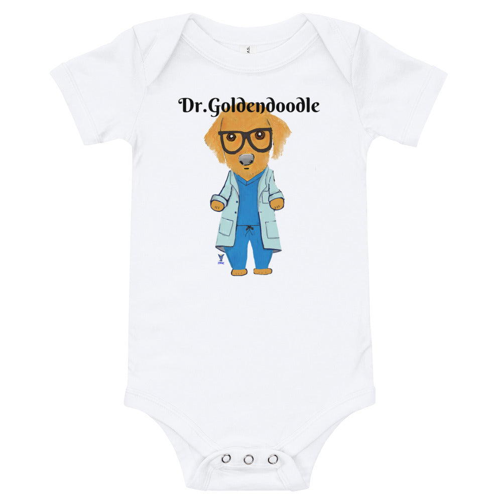 Dr.Goldendoodle Baby Onesie - pickie shop