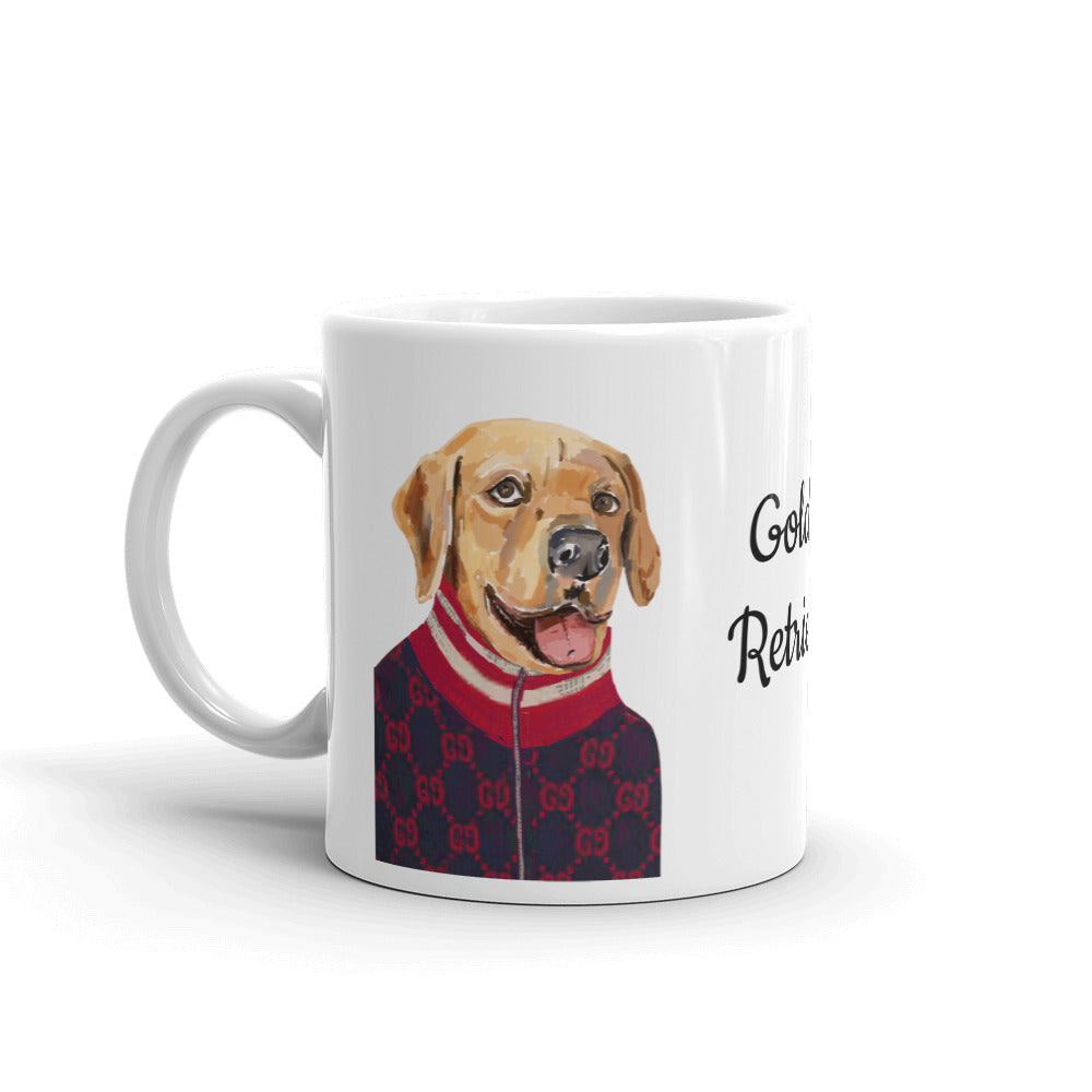 Golden Retriever Coffee Mug - pickie shop