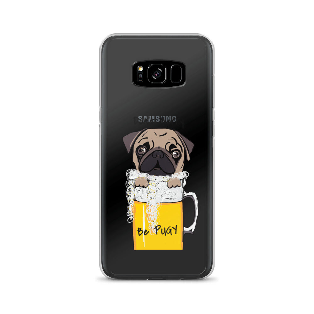 Don't Worry Be Pugy! Samsung Phone Case - pickie shop