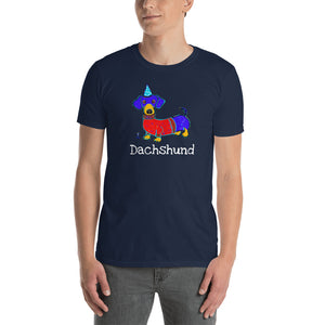 Dachshund T-Shirt I Black / Navy - pickie shop