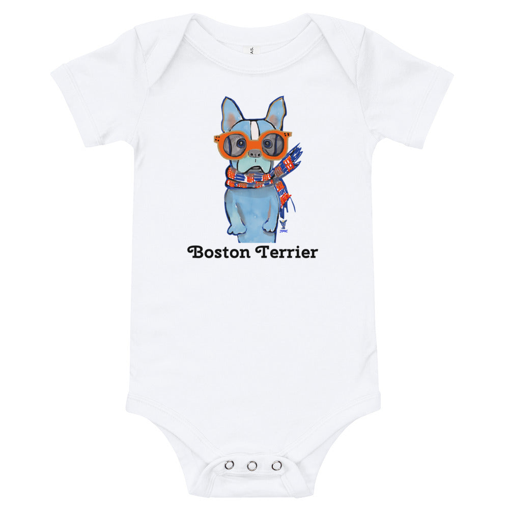 Boston Terrier Baby Onesies® - pickie shop