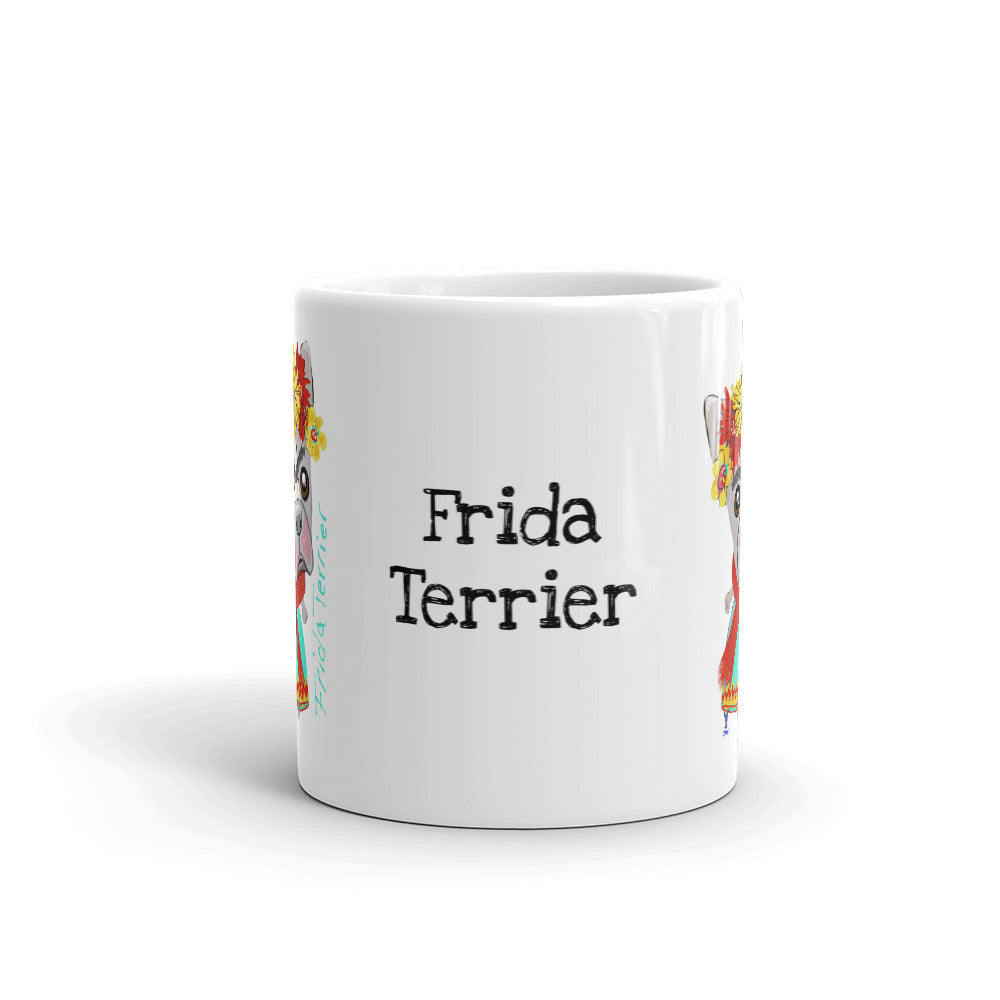 Frida Boston Terrier Coffee Mug - pickie shop