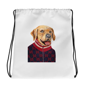 Golden Retriever Drawstring bag - pickie shop