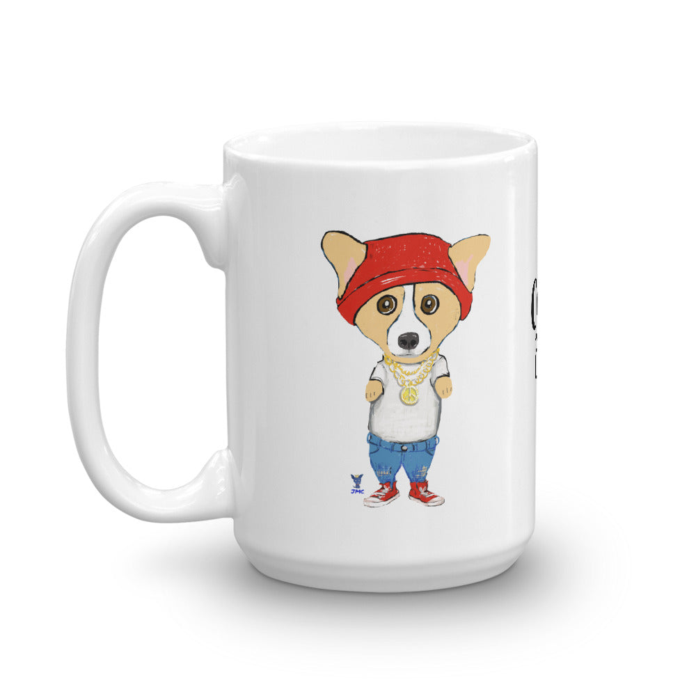 Bad Ass Corgi Coffee Mug - pickie shop