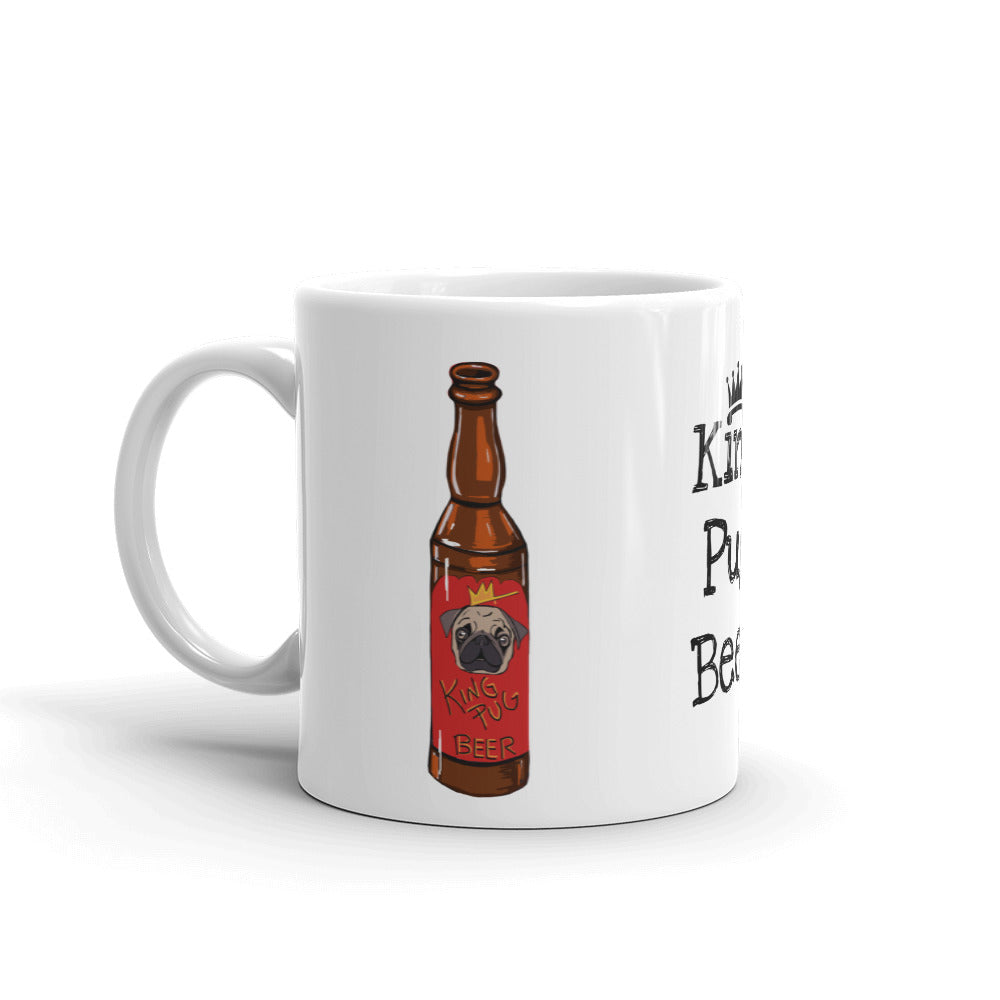 King Pug Beer Coffee Mug - pickie shop