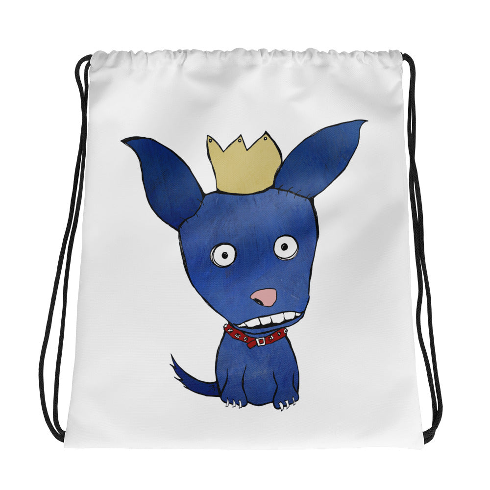 Blue Dog Drawstring bag - pickie shop