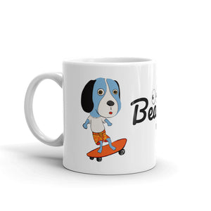 Skateboarding Beagle Coffee Mug - pickie shop