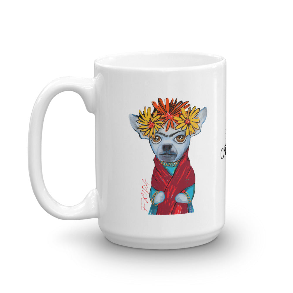Frida Chihuahua Coffee Mug - pickie shop