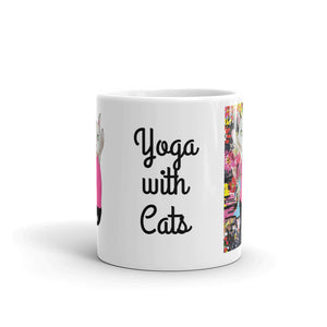 Yoga with Cats Coffee Mug - pickie shop