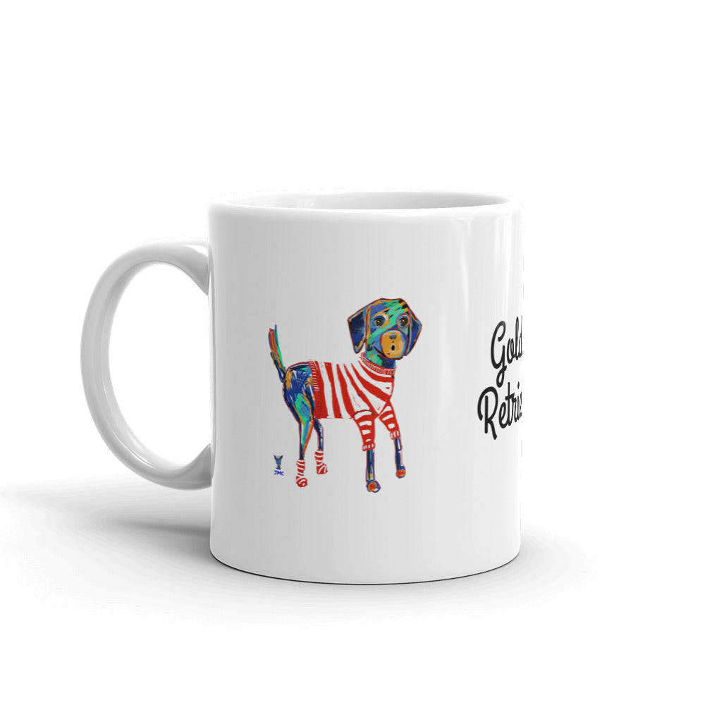 Picasso Golden Retriever Coffee Mug - pickie shop
