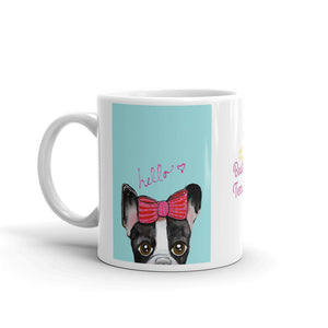 Hello, Boston Terrier Coffee Mug - pickie shop