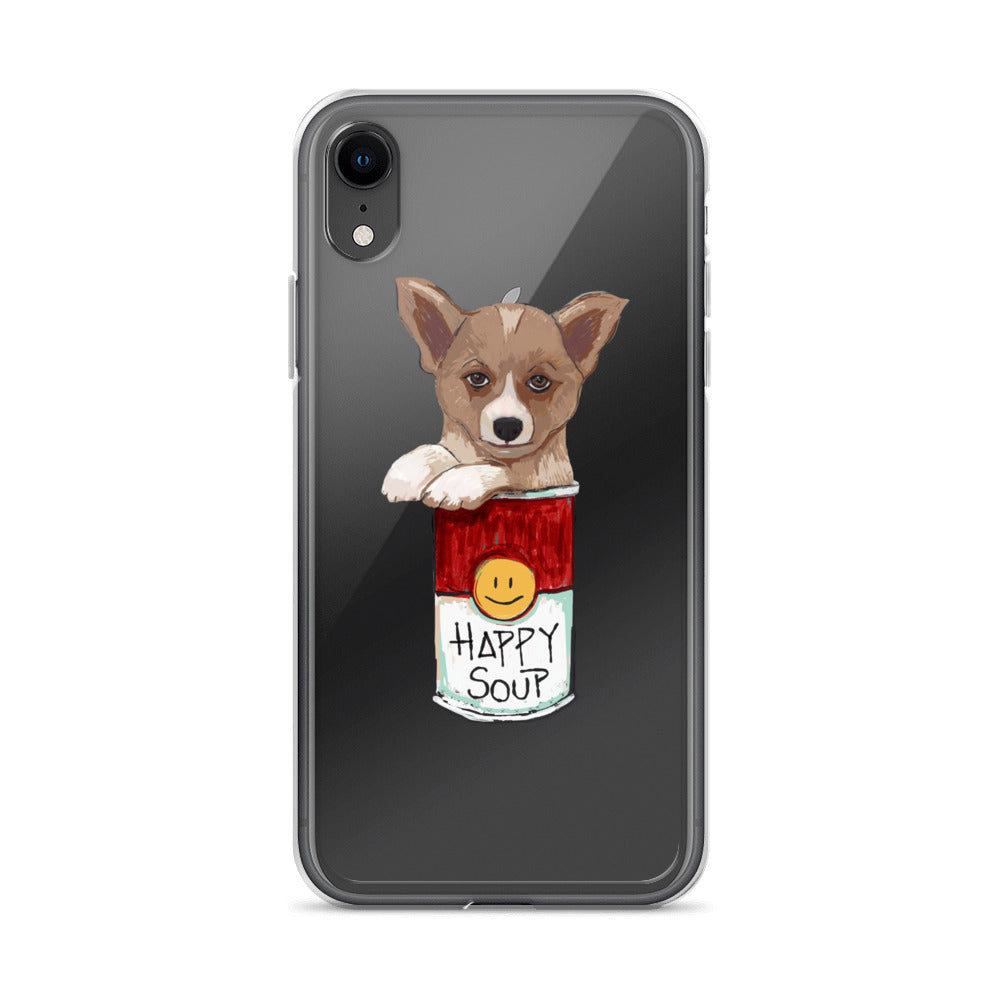 Corgi in the Happy Soup - iPhone Case - pickie shop