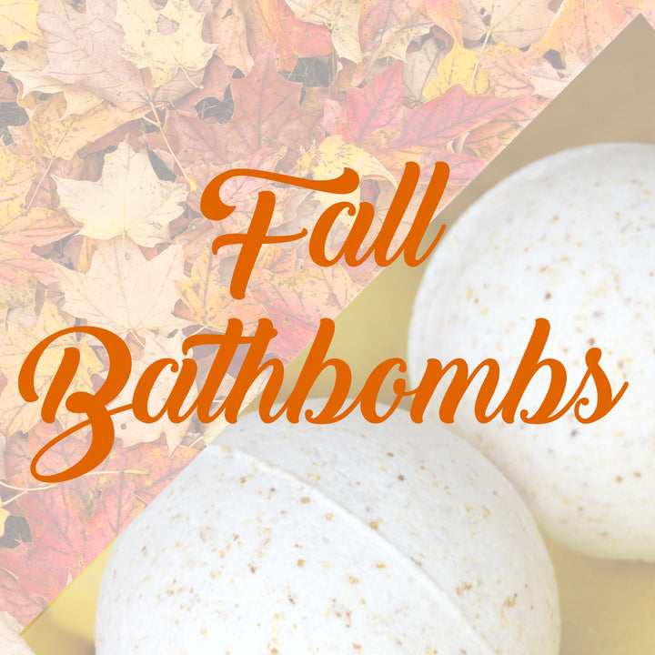 2 DIY Bath Bombs for the Fall