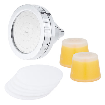 Opus Wall Fixture + Additional Lemon Refill Cartridge + Microfiber Filters 5 pack