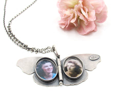 Load image into Gallery viewer, Sterling Silver Common Buckeye Locket