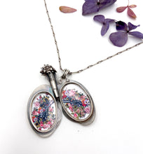 Load image into Gallery viewer, Lung Locket- Sterling Silver and Brass