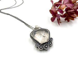 What Lies Within Quartz Crystal Locket