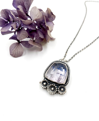 What Lies Within Quartz Crystal Locket (Small)