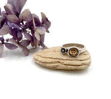 Load image into Gallery viewer, You Are Enough - Sterling and Brass Ring