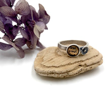 Load image into Gallery viewer, Love Grows Love - Sterling and Brass Ring