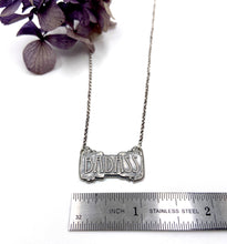 Load image into Gallery viewer, Badass Pendant in Sterling
