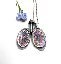 Load image into Gallery viewer, Lung Locket- Sterling Silver etched with Oprah quote
