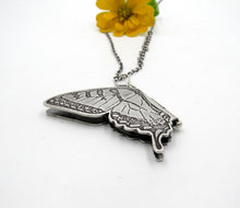 Load image into Gallery viewer, Sterling Silver Eastern Swallowtail Butterfly Locket