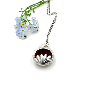 Sterling Silver Aromatherapy Pendant