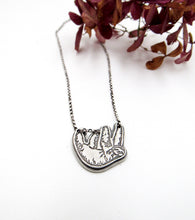 Load image into Gallery viewer, Chill Sloth Sterling Silver Pendant