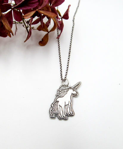 You're Magical Sterling Silver Unicorn