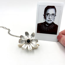 Load image into Gallery viewer, Sterling Silver Dissent Flower Locket