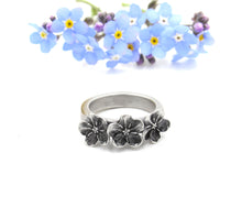 Load image into Gallery viewer, Forget Me Not Memorial Ring