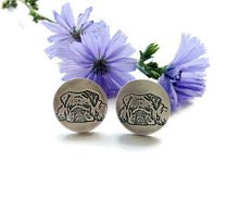 Load image into Gallery viewer, You Pet's Portrait- Sterling Cufflinks