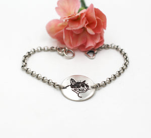Custom Pet Portrait Bracelet