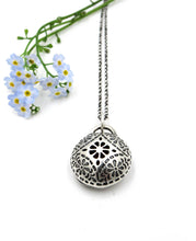 Load image into Gallery viewer, Sterling Silver Aromatherapy Pendant