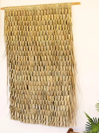 Natural Woven Seagrass Wall Art