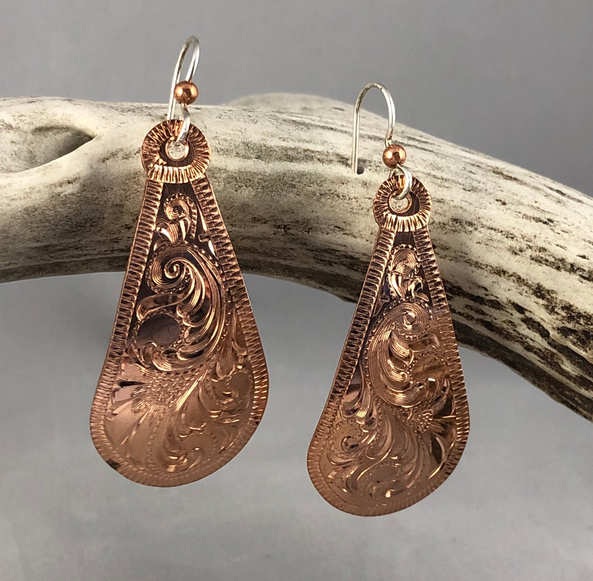 Copper Teardrop