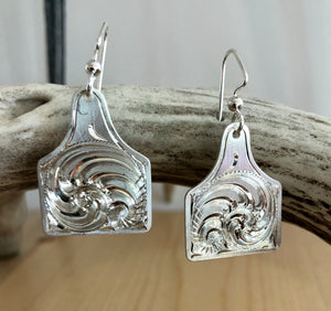Cow Tag Earrings 18