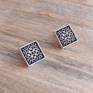 ARCHITECTURE, Sterling Silver Cuff Links